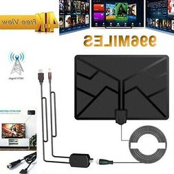 1080Mile Indoor Digital TV Antenna 4K 1080P HDTV Signal Ampl