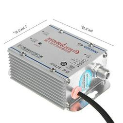 220V 2 Way CATV Cable TV Signal Amplifier AMP Antenna Booste