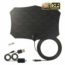 25DB HD Digital Antenna Indoor TV Aerial With Amplifier Sign