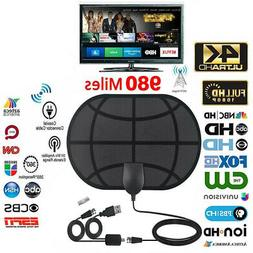 980Mile Range Antenna TV Digital HD 4K Antena Digital Indoor