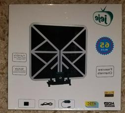Jeje Flat HD Digital Indoor Amplified TV Antenna - 65 Miles
