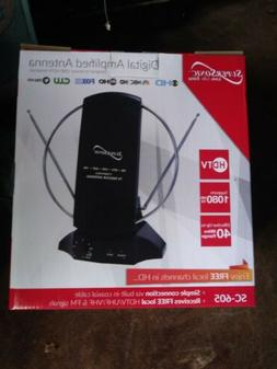 HDTV and Digital Amplified TV Indoor Antenna Free Channels S