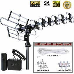 FiveStar Outdoor HD TV Antenna Strongest Up to 200 Miles Lon