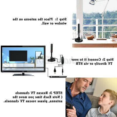 Indoor 300 Antenna Aerial TV Cable