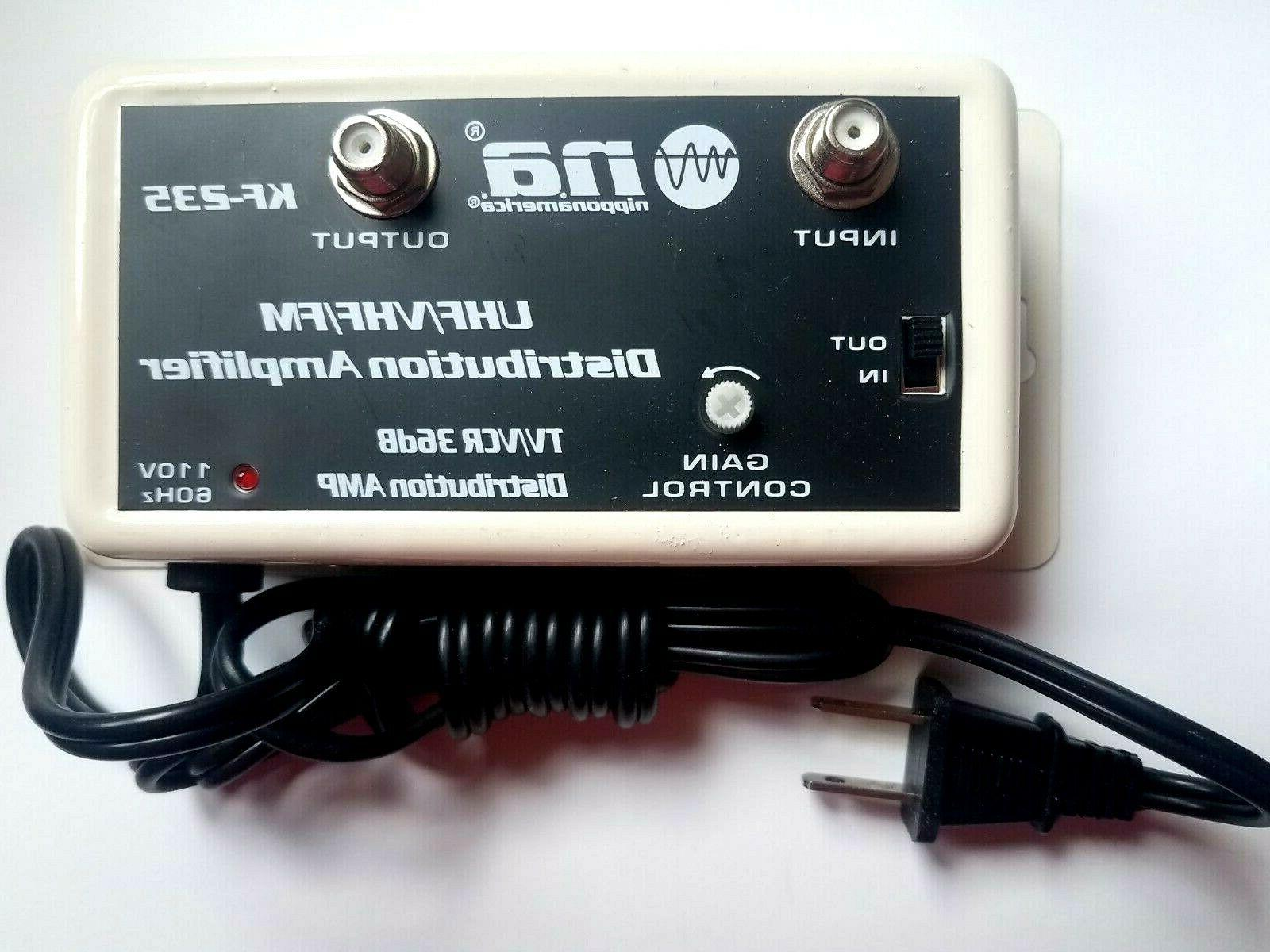 NEW CABLE TV SIGNAL AMPLIFIER AMP SHIPS