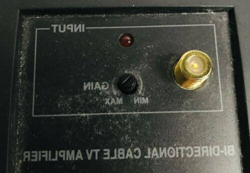 RadioShack Cable TV Amplifier AS - UNTESTED
