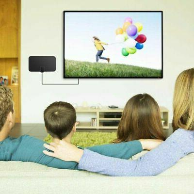 HDTV Digital Indoor Aerial HD Freeview Signal Amplified Mile