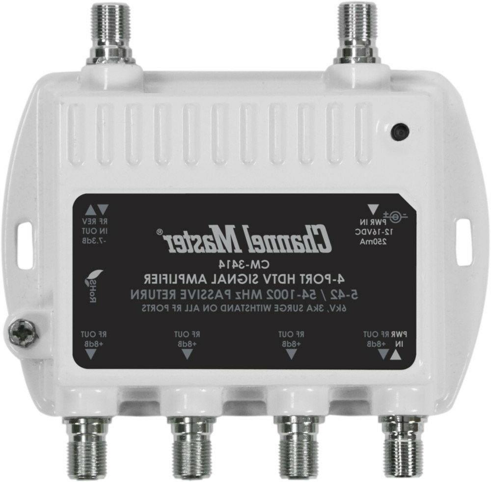 signal booster distribution amplifier