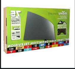 NEW Mohu Crescent Amplified 75-Mile Multi-Direction Outdoor