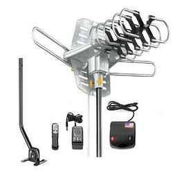 Jeje TV Antenna Amplified 150 Miles HD Digital Outdoor HDTV